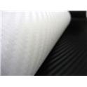 Carbonová folie 3D 50x60 cm bílá