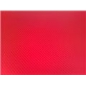 Carbon folie 3D 152x180 cm červená