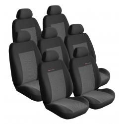 Autopotahy Citroen C4 Picasso I, od r.2006-2013, 7 míst, šedo černé SIXTOL