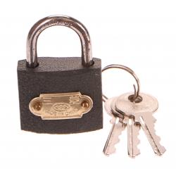 Zámek visací, 32mm, 3 klíče GEKO