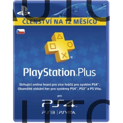 PlayStation Plus Card Hang 365 Days/CZE