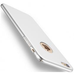 Plastový kryt pro Apple iPhone 7 plus, stříbrný SIXTOL