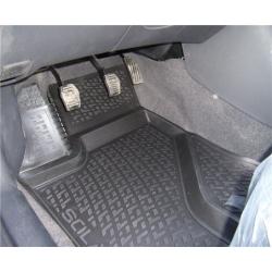 Gumové koberce BMW 5-er Limousine F10 Facelift (13-) / Touring F11 Facelift (13-)  (3D) SIXTOL