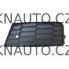 mřížka předního nárazník škoda octavia RS od roku 2013 levá - 5E0807681B