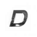 Znak D samolepící PLASTIC
