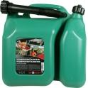 SHERON kombinovaný kanystr 6 + 2,5 lt zelený