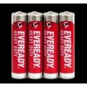 EVEREADY RED zinkochlorid AAA/4