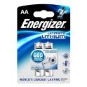 ENERGIZER lithium AA/2