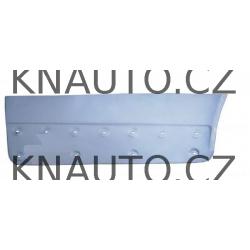 Opravný plech krytu dveří Primastar , Vivaro , Trafic II - Levý přední / nízký