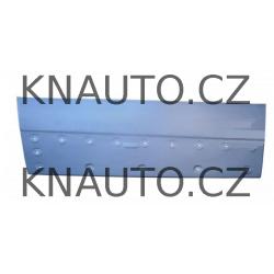 Opravný plech krytu bočních posuvných dveří Primastar , Vivaro , Trafic II - nízký