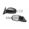Levé elektrické černé zpětné zrcátko s výhřevem Škoda Fabia II -