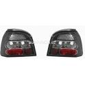 Zadní černé LED tuning světla VW Golf III
