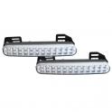 Světla pro denní svícení LED DRL048, homologace
