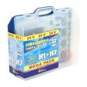 Žárovky 24V servisní box MEGA H1+H7+pojistky