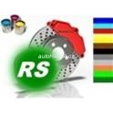 Barva na brzdové tømeny a motor kelímek 250 ml zelená RS