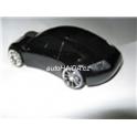 Myš ve tvaru auta Porsche optická USB svítící černá