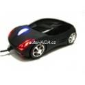 Myš auto k PC optická USB tuning svítící černá