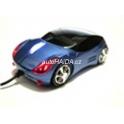 USB myš auto k PC optická tuning svítící modrá