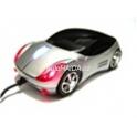 Myš auto k PC optická USB tuning svítící stříbrná