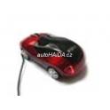 Myš auto k PC optická USB M7000 červená