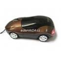 Myš auto k PC optická USB M7000 zlatá TM