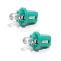 ŽŽárovka 1LED 12V B8,5d zelená 2ks