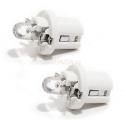 Žárovka 1LED 12V B8,5d bílá 2ks