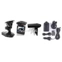Kamera do auta - černá skříňka , výklopný a otočný monitor , 6 IR LED
