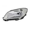 Hlavní reflektor  čočkový TYC Škoda Fabia II, Roomster - pravý