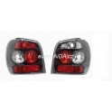 Koncová černá tuning světla VW Polo 6N