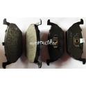 Sada brzdových destiček ABS 37008 Škoda, VW, Audi, Seat... - přední