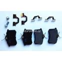 Brzdové destičky SRL S70-1003 VW Golf, Vento, Passat, Polo, Seat Cordoba, Ibiza, Toledo, Ranault, Peugeot - zadní