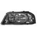 Hlavní černý reflektor TYC VW Sharan 7M (2000-), Seat Alhambra (2001-) - levý