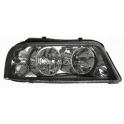 Hlavní černý reflektor TYC VW Sharan 7M (2000-), Seat Alhambra (2001-) - pravý
