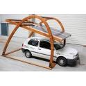 GWL/Power EVDock - dřevěná konstrukce pro kryté parkovací místo (CarPort)