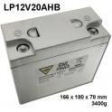 GWL/Power Lithium Battery LiFePO4 (12V/20Ah)