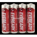 EVEREADY RED zinkochlorid AA/4