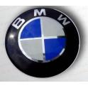 BMW Pøední znak na kapotu KLASICKÝ, Emblem, prùmìr 82mm