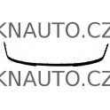 Lišta předního nárazníku VAG 1U0807717C01C Škoda Octavia I Facelift
