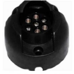 Zásuvka pro přívěs 12 PLASTIC 10-30 403001-A 7-N-pól