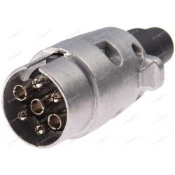 Zástrčka 7-pin/12V kovová