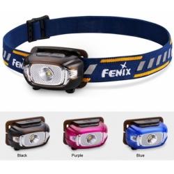 čelovka Fenix HL15 - černá / modrá / růžová