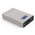 Powerbank 8400mAh Esperanza Kinetic 2x USB stříbrná