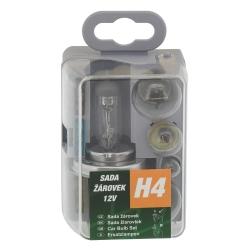 Žárovky servisní box univerzální H4 GREEN