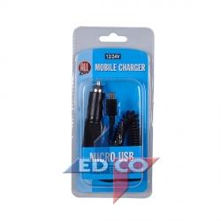 ALLRIDE Nabíječka USB micro-kroucený kabel