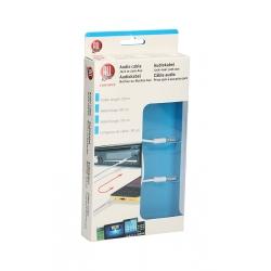 ALLRIDE WHITE Audio kabel jack-jack 3,5 mm, 50 cm