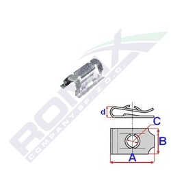 montážní plech romix C60583
