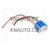 Patice keramická H4 s kabely (Svorkovnice, konektor žárovky)