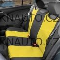 Potah sedadla TRIKO zadní 1ks žlutý