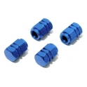 Ozdobné kryty ventilkù modré